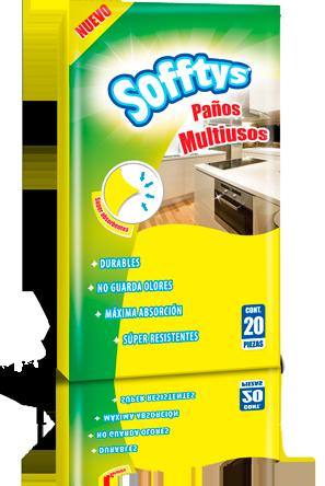 PAÑO MULTIUSOS SOFFTYS