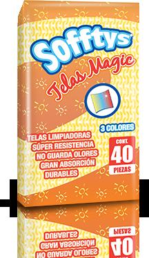 Sofftys Telas Magic 40pzs